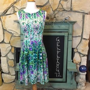 Cynthia Rowley Floral Fit and Flare Dress